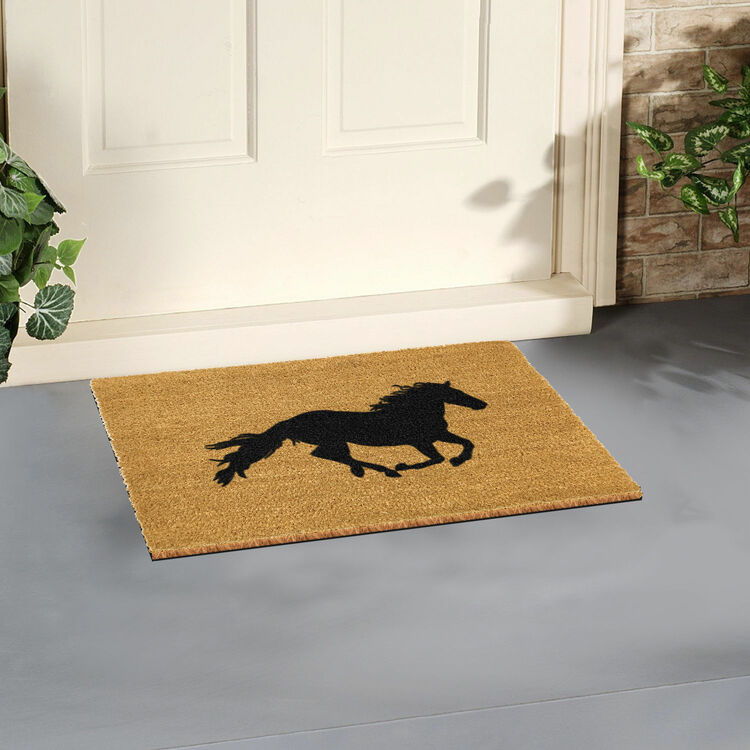 Coir Horse Doormat Additional 1 Coir Horse Doormat Additional 2 ...