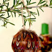 Box of 2 Pheasant Feather Baubles additional 1