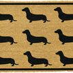 Coir Dachshunds Doormat additional 1