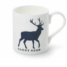 McLaggan Smith Daddy Deer Bone China Mug