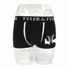 Tyler & Tyler Jersey Boxer Shorts - Rutting Stags