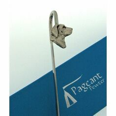 Pewter Labrador Bookmark