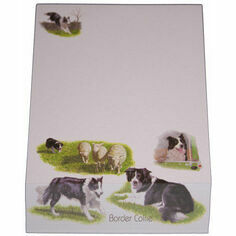 Border Collie Slant Pad
