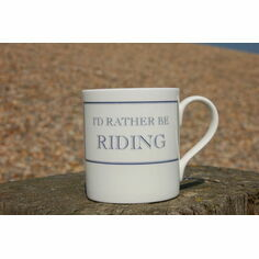Stubbs Mugs I'd Rather Be Riding Mug