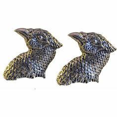 Pewter Pheasant Head Cufflinks