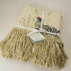 Voyage Maison Game Birds Fringe Throw