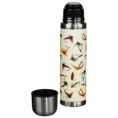 Fishing Flies Vacuum Flask
