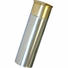 Bisley 3oz Cartridge Stainless Steel Hip Flask