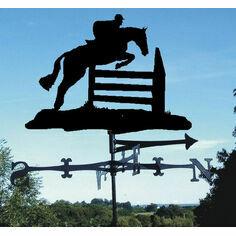 Horse Jumping Weathervane