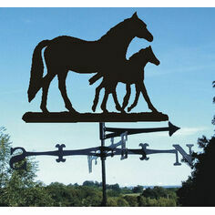 Mare and Foal Weathervane