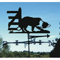 Working Collie Weathervane