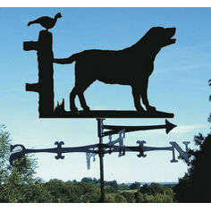 Labrador Dog Weathervane