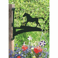 Horse Galloping Hanging Basket Bracket