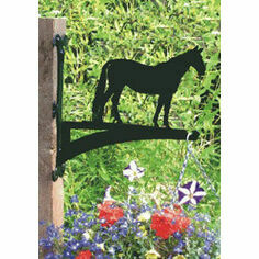 Horse 'George' Hanging Basket Bracket