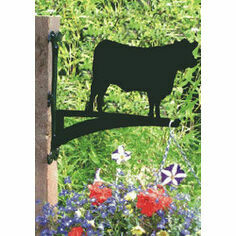 Profiles Range Angus Cow Hanging Basket Bracket