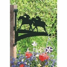 Horse Racing Hanging Basket Bracket