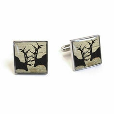 Rutting Stags Cufflinks