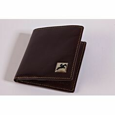 Tyler & Tyler Leather Jeans Wallet - Horse Racing
