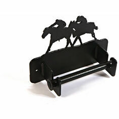 Wall Mounted Horse Racing Loo Roll Holder