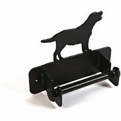 Wall mounted Labrador Toilet Roll Holder