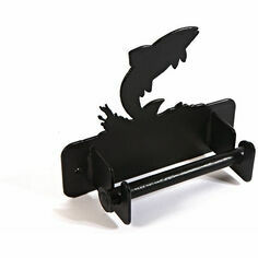 Wall Mounted Leaping Fish Toilet Roll Holder