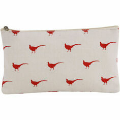 Pheasant Make-Up Bag