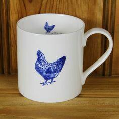 Lucy Green Chicken Mug