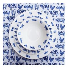 Lucy Green Farm Life Wipe Clean Tablecloth