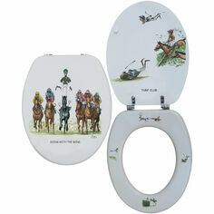 Looprints Horse Racing Loo Seat