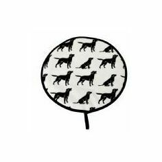 Otta Designs Black Labrador Hob Cover
