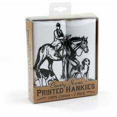 Pack of 2 Hunting Cotton Handkerchiefs