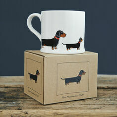 Sweet William Dachshund Mug