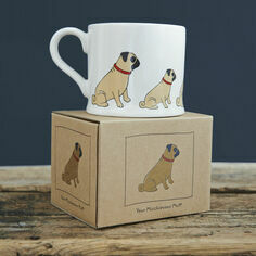 Sweet William Pug Mug