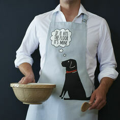 Sweet William Black Labrador Apron