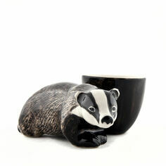 Quail Ceramics Badger Egg Cup