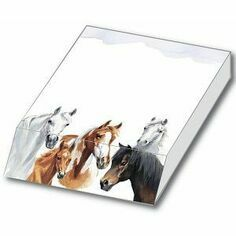Slant Message Pad - Horse