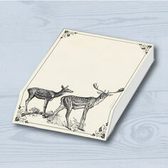 Slant Message Pad - Stag