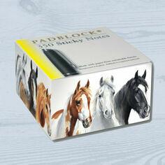 Padblocks Sticky Message Pad - Horse