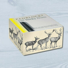 Sticky Message Pad - Stag