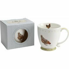 Holly House Chicken Mug