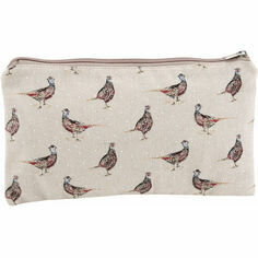 Holly House Pheasant Make-Up Bag