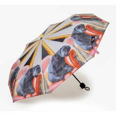 Country Matters Sleeping Labrador Folding Umbrella