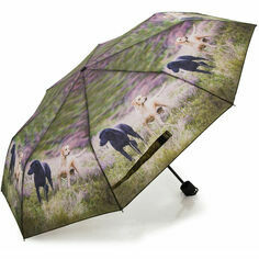 Country Matters Alert Labs Folding Umbrella