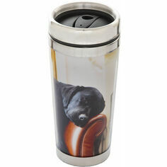 Country Matters Sleeping Labrador Thermal Mug