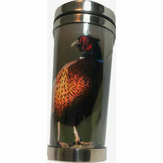 Country Matters Pheasant on the Wall Thermal Mug
