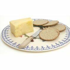 Brixton Pottery Farm Animal Cheese/Cake Plate