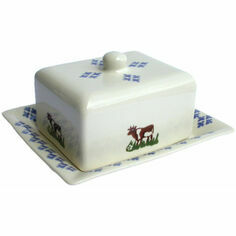 Brixton Pottery Cow Cheese/Butter Dish