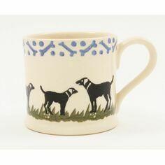 Brixton Pottery Black Labrador Mug
