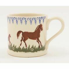 Brixton Pottery Horse Mug