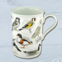 British Birds Bone China Mug